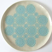 Large Doily Platter | BRIKA - A Well-Crafted Life