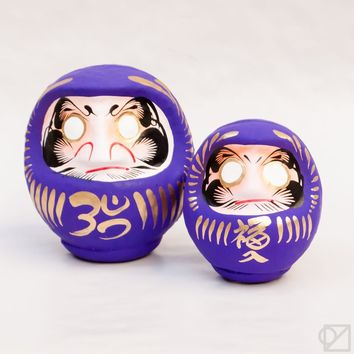 Purple Daruma - Omoi Zakka Shop