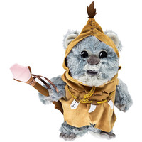 """Disney Parks Star Wars Kaink the Ewok 9"""" Plush New with Tags"""