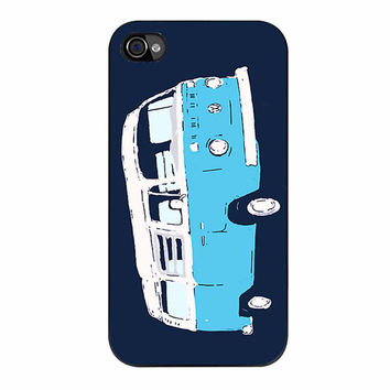 Bay Window Campervan Basic Colours 234 iPhone 4/4s Case