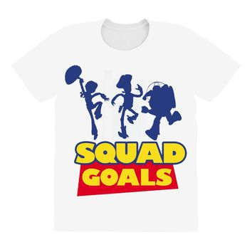 Toy Story Squad Goals All Over Women's T-shirt