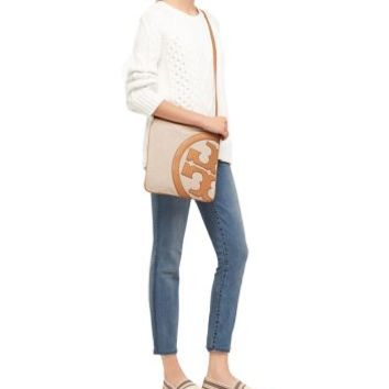 Tory Burch Lonnie Canvas Swingpack