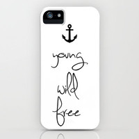 Young, Wild, Free iPhone Case by Rex Lambo | Society6