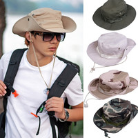 Bucket Hat Boonie Basic Hunting Fishing Outdoor Cap Unisex 100% Canvas NEW  7_S