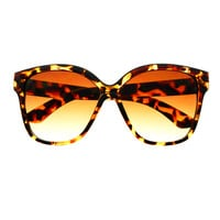 Stylish Large Oversized Retro Fashion Cat Eye Sunglasses Shades C1410