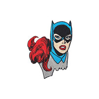 Batgirl Headshot Iron-On Patch