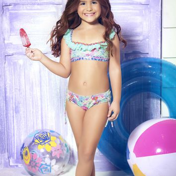 Mar de Rosas - Mar de Algas | Luxury Children's Swimwear
