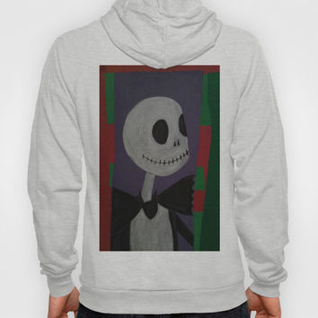 JACK SKELLINGTON/NIGHTMARE BEFORE CHRISTMAS Hoody by Kathead Tarot