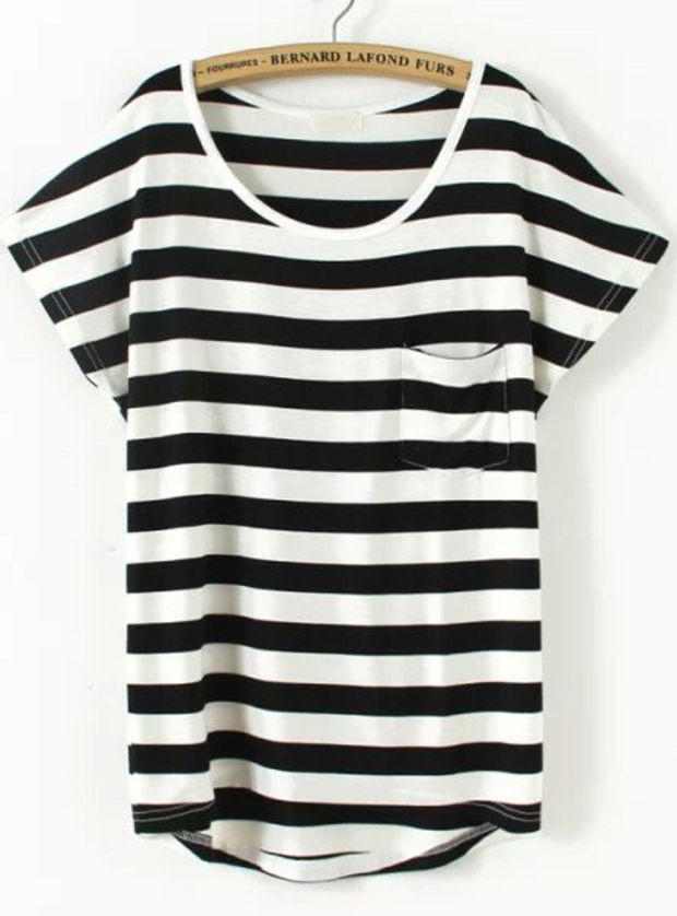 White shirts with black lining artee shirt for Black and white short sleeve shirts