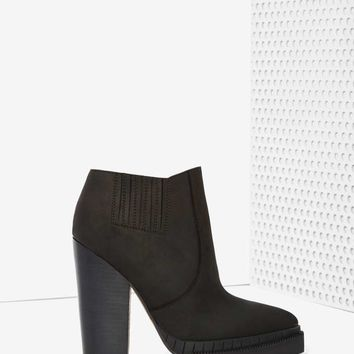 Jeffrey Campbell Stria Leather Chelsea Boot