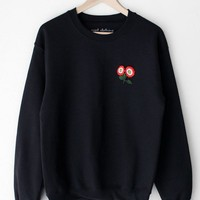 Flower Patch Oversized Sweatshirt