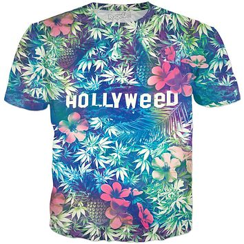 Hollyweed Tropical T-Shirt