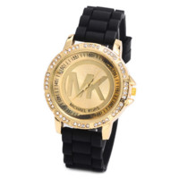 Black Stylish Fashion Designer Watch