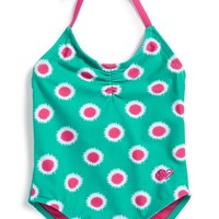 Infant Girl's Roxy 'Safari' One-Piece Swimsuit,