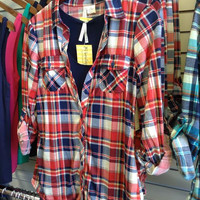 Country Backwoods Flannel: Americana