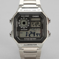 Casio World Time Watch - Urban Outfitters