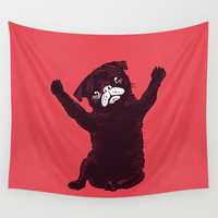Hug Wall Tapestry by Huebucket