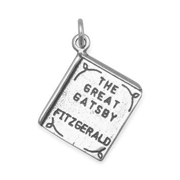 The Great Gatsby Book Charm