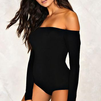 Sri Off-the-Shoulder Bodysuit