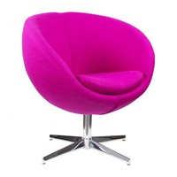 VAYU SWIVEL CHAIR PINK