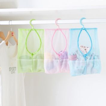 DUDINI New Arrival Cosmetic Bag Multi-function Space Saving Hanging Mesh Bags Clothes Organizer For Bedroom New cosmetic Bag