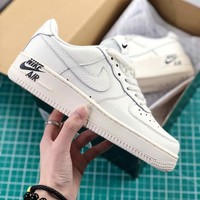 Nike Air Force 1 07 Leather Af1 White Sport Shoes - Best Online Sale