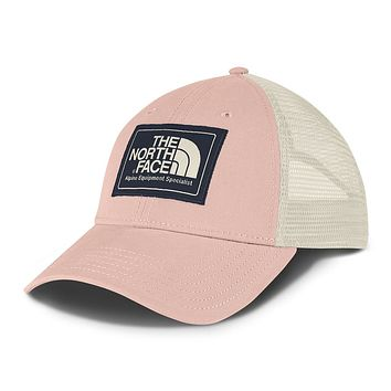 Mudder Trucker Hat in Evening Sand Pink, Urban Navy & Vintage White by The North Face