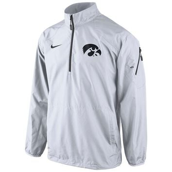 Nike Iowa Hawkeyes Lockdown Half-Zip Storm-FIT Performance Jacket - Men