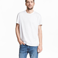 Pima Cotton T-shirt - from H&M