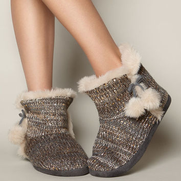 Sequin Booties - Neutral Mix | Boux Avenue