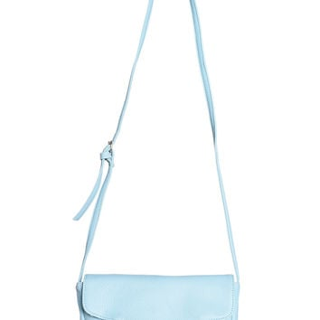 Tassel Zip Side Bag - Sky Blue