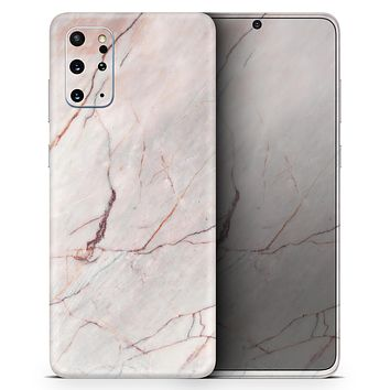 Slate Marble Surface V11 - Skin-Kit for the Samsung Galaxy S-Series S20, S20 Plus, S20 Ultra , S10 & others (All Galaxy Devices Available)