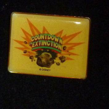 Disney Countdown Extinction Pin