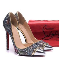 CL Christian Louboutin Fashion Heels Shoes-196