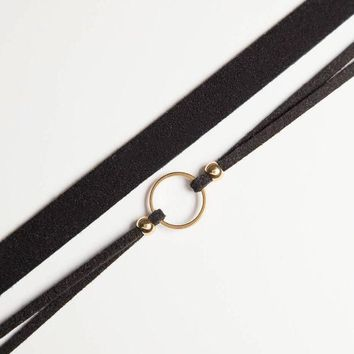 2Pcs Running In Circles Choker Set + Gift Box