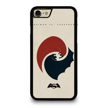 SUPERMAN VS BATMAN YIN YANG iPhone 7 Case Cover