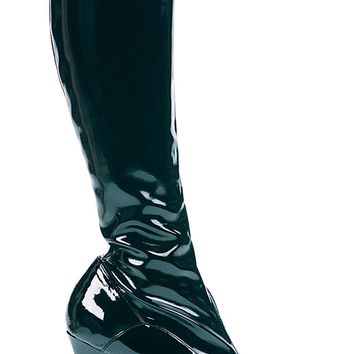 Boot Chacha Black Size 12 Fashion Halloween props Costumes
