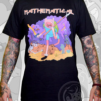 MATHEMATICAL Unisex Black Tee