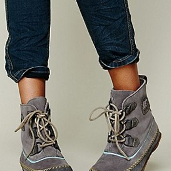 Sorel  Joplin Stitch Boot at Free People Clothing Boutique