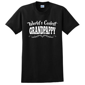 World's coolest grandpoppy Father's day birthday gift ideas for new grandpa proud grandfather gifts for him T Shirt