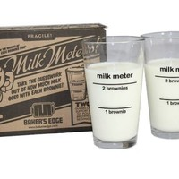 Baker's Edge Milk Meters (Milk Glasses)