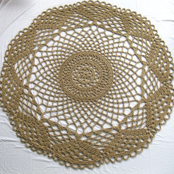 handmade round area rug large round jute rug outdoor rug hippie decor
