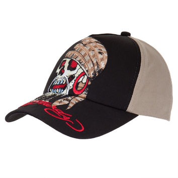 Ed Hardy - Pirate Skull Youth Adjustable Baseball Cap
