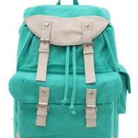 Korean Popular Casual Canvas Schoolbag/ Backpack (Model: B010277)