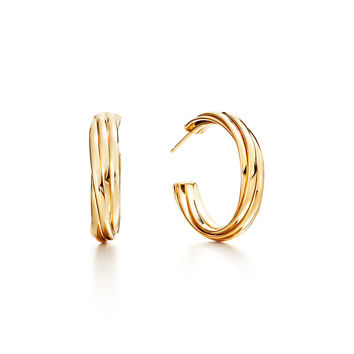 Best Tiffany Hoop Earrings Products on Wanelo c3a754361db2