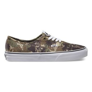 Vans Star Wars Authentic (Boba Fett camo)
