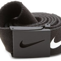 Amazon.com: Nike Golf Mens Tech Essential Belt, Black, One Size: Clothing