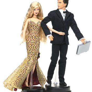 Barbie Loves Pop Culture: James Bond 007 Ken and Barbie Gift Set