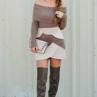 Beautiful Soul Sweater: Mocha