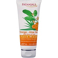 Patanjali Orange Aloe Vera Face Wash